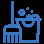 icon Reinigung von Monteurzimmer